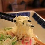 玉響 - 拘りのある麺の歯触り