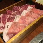 豚美 - 焼きしゃぶの肉