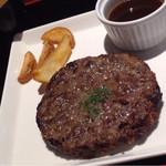 67335385 - 熟成和牛ハンバーグステーキ ¥1,380