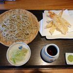 なかやしき - 料理写真:小海老天せいろ 1365円
