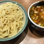 67336222 - ノーマルなつけ麺(冷やもり)並盛り。