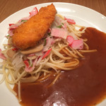 スパゲッティ・ハウス ヨコイ - Aランチのミラカン+ささみチーズフライ