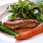 箕面旬素材キッチン Verla - 料理写真:相方のメイン メバルのソテー