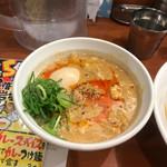 つけ麺 津気屋 - 酸辣湯つけ麺 つけスープUP