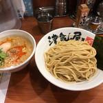 つけ麺 津気屋 - 5月限定麺 酸辣湯つけ麺