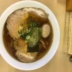67341580 - 醤油チャーシューメン1050円+味付卵100円