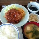 味処いちむら - メンチカツ定食:850円