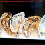 かき松島 こうは - 生牡蠣 3個 ¥1200位