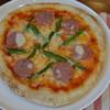 エシャロット - 料理写真:雲仙ソーセージのピザ
