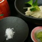 やす竹 - 蕎麦掻き