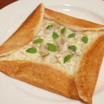 ガネーシュ - シラスと山椒のドーサ