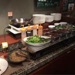67344516 - 韓国惣菜ビュッフェコーナー
