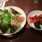 67344519 - 韓国惣菜ビュッフェから撮ってきたもの
