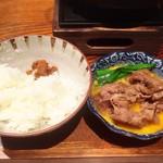 響 - 肉味噌うまー