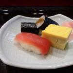 東家 - 寿司3点セット