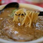 らーめんの土佐屋 - 細麺