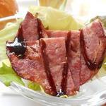 道の駅 木の香 - しし肉スモークサラダ