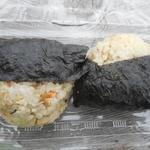 道の駅 木の香 - 本川きじの炊込みおむすび325円x2=650円