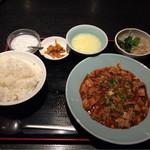 67345741 - 麻婆豆腐セット ¥700-