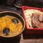 鷹流 - カレーつけ麺+煮チャーシュー