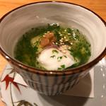 Soffa Tokyo - ホウボウとシソのあんかけ茶碗蒸し