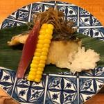 Soffa Tokyo - スズキ塩焼き
