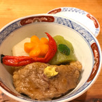 Soffa Tokyo - 庄内鴨と野菜の炊き合わせ
