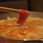 マグロ 婆娑羅 - 鮪の塩麹しゃぶしゃぶ