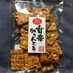 坪田菓子店 - 今回初めて買ってみた「甘辛かりんとう」!