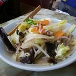 玉蘭 - タンメン。シャキシャキ野菜がたっぷり。