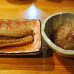 本牧漁亭 - ¥2,000 弱のコースの先付けの一部