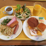 ホテルニューオータニ - 朝食