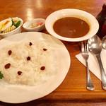67351158 - くぐつ草カレーセット(コーヒー or 紅茶付き)