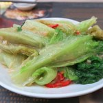 Ho Hung Kee - 料理写真:椒絲腐乳炒唐生菜