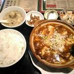 東方明珠飯店 - 【2017/5】麻婆豆腐定食