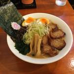 大山ラーメン・つけ麺 - 大山ラーメン全部入り!
