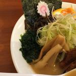 大山ラーメン・つけ麺 - 具材アップ!