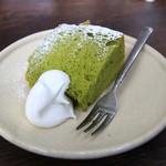 六古窯 - 抹茶のシフォンケーキ