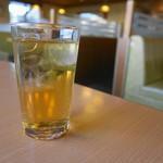 ジョイフル - ドリンクバーのウーロン茶は薄薄(笑)
