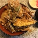 天よし - 白海老天丼 1340円