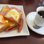 謎屋珈琲店 - シャーロックホームズの朝食セット