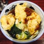 やしま - 鶏天そば(500円)