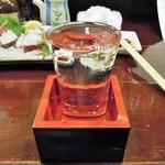 アジト - 冷酒(黒龍、磯自慢と?)