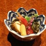 横浜 地鶏居酒屋 一條 - 前菜