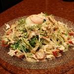 横浜 地鶏居酒屋 一條 - 名古屋コーチンの棒棒鶏サラダ