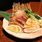 横浜 地鶏居酒屋 一條 - 地鶏のたたき