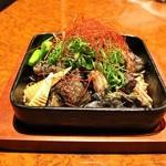 横浜 地鶏居酒屋 一條 - 炭炙り焼き3種盛り