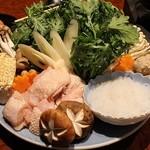 横浜 地鶏居酒屋 一條 - 名古屋コーチンのすき焼き