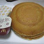 マクドナルド - 今回の朝ご飯はホットケーキにしました。