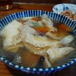 みなと食堂 - せんべい汁2011.2